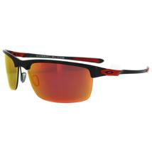 Oakley Sunglasses OO9174 06 Carbon Blade Ferrari Carbon Fiber Iridium Po... - $209.99