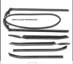 For 1964-1965 Chevy Chevelle SoffSeal Convertible Top Weatherstrip Kit NEW USA! - $224.52