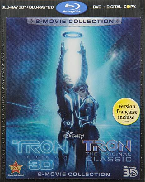 Disney Tron Collection: Legacy + Original Classic [3D + Blu-ray + DVD]