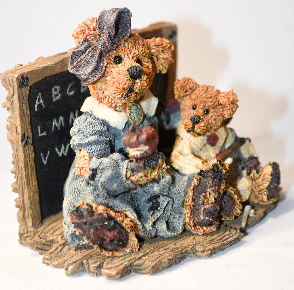 Boyds Bears: Miss Bruin & Bailey....The Lesson - Style 2259 image 2