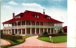 Vtg Postcard 1910 - Country Club New Orleans Louisiana - Grombach-Faisan... - $6.95