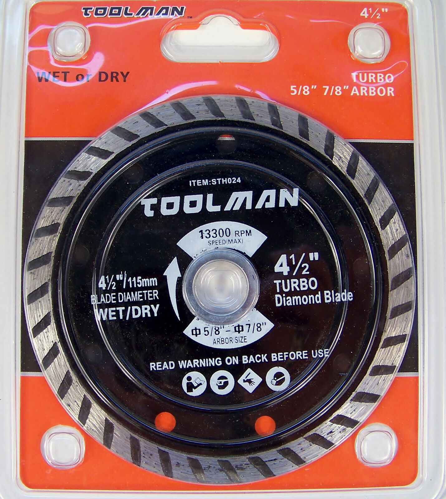 "Primary image for 3pc 4-1/2"" Wet / Dry DIAMOND CUT SAW BLADE Masonry Tile Marble Slate Concrete"