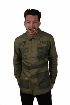 Dope Homme Standard Distribution M65 Style Militaire Veste Nwt