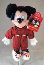 "Mickey Mouse Bed Time Christmas 12"" Souvenir Plush Toy (B444-V11) - $25.23"
