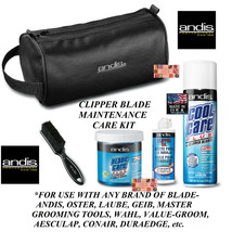 ANDIS CLIPPER BLADE CARE MAINTENANCE SPRAY,DIP WASH,OIL/LUBE KIT-Cleaner... - $69.99