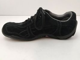 Merrell Womens US 6.5 Shoes Circuit Grid Comfort Black Suede Leather EU37 EUC image 7