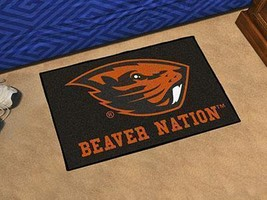NCAA -  Oregon State  inch Beaver Nation inch  Starter Rug 19 inch x30 inch   - $34.99
