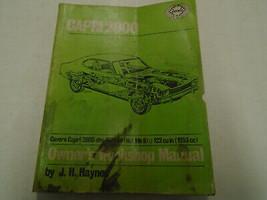 1971 - 1993 Haynes Capri 2000 Owners Service Repair Shop Manual Used Wea... - $27.71