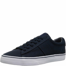 Polo Ralph Lauren Mens Sayer Low-Top Sneakers Black 9.5 D MSRP 50 New - $45.73