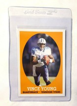 Vince Young 2007 Topps Turn back the clock #4 Tennessee Titans Texas Lon... - $2.38