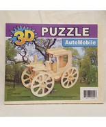 Puzzle 3D Wooden Jigsaw AutoMobile Car 2011 Sealed New - $9.99