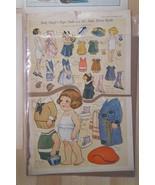 DOLLIE DINGLE'S PAPER DOLL & FRIENDS PICTORIAL REVIEW JULY 1922 GRACE G.... - $19.31