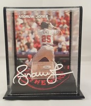 Andruw Jones Autographed Signed Game Used Dirt Atlanta Braves JSA  - $167.94