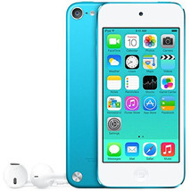 Apple iPod Touch 5th Generation 64GB Blue Grade A Refurbished Wi-Fi Comp... - $197.95
