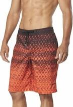Speedo Men's Swim Trunk Knee Length Boardshort E-Board Printed 2XL - $27.55