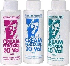 jerome russell Peroxide Cream 30 Volume 100ml, 3.4 Ounce - $12.95