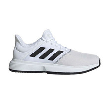 Adidas Game Court Wide Men's Tennis Shoes Sports Athletic White CG6336 - £63.12 GBP
