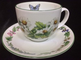 Royal Worcester Herbs Porcelain Teacup & Saucer Set - $39.99
