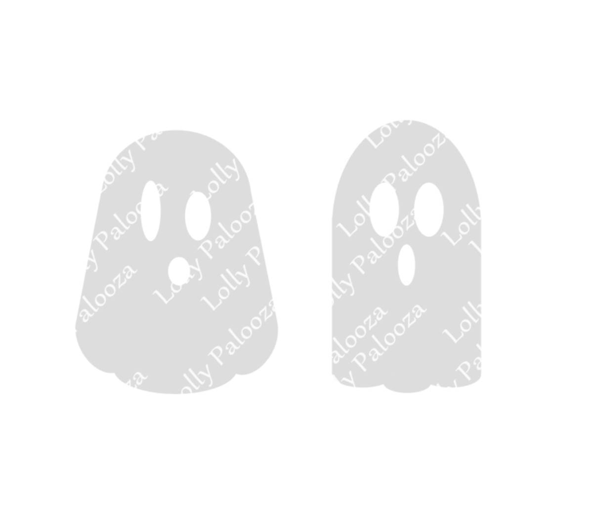 Ghosts DIGITAL File.  Instant Download.  PNG & SVG Files.  No Physical Items Shi