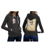 Stan Lee Black Cotton Hoodie For Women - $29.99