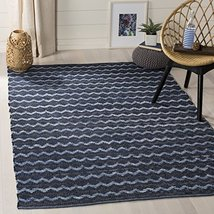 Safavieh Montauk Collection MTK120N Handmade Flatweave Cotton Area Rug, ... - $260.00
