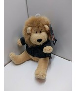 Harley Davidson Plush King Lion Biker Club 6 inches with Leather Jacket  - $15.83