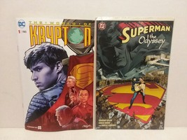 SUPERMAN - KRYPTON: SYFY SPECIAL INSERT COMIC + THE ODYSSEY - FREE SHIPP... - $14.03