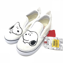 Vans Peanuts Limited Edition Snoopy True Whte Slip On Shoes Kids 10 - $87.96