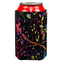 Splatter Paint Black All Over Can Cooler - $151,53 MXN