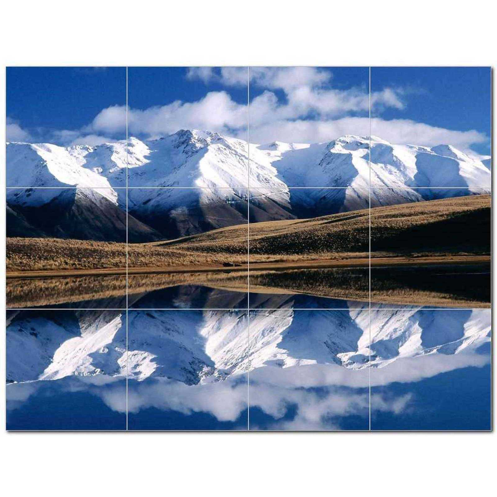 Primary image for Winter Scene Ceramic Tile Mural Kitchen Backsplash Bathroom Shower BAZ406452