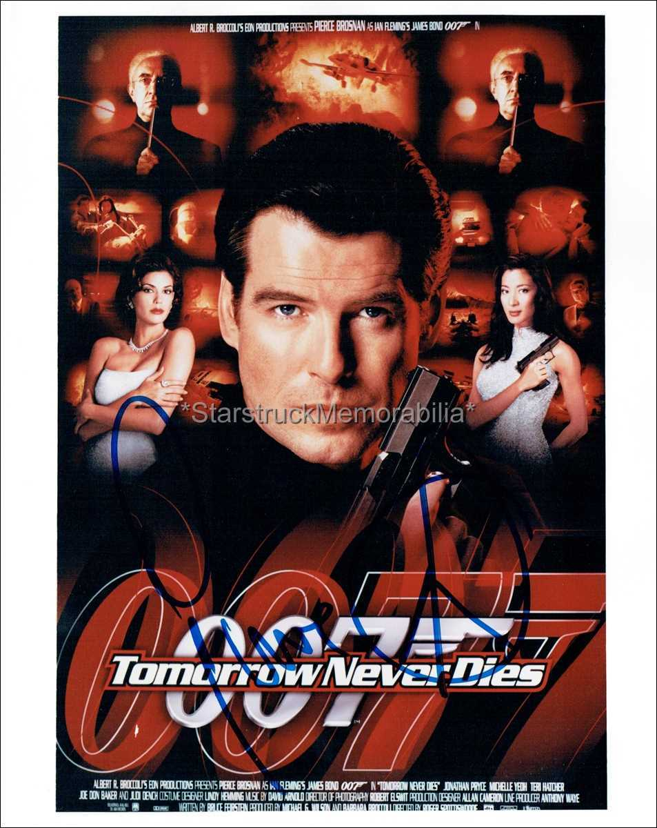 Pierce Brosnan Autograph *James Bond, Tomorrow Never Dies* Signed 10x8 Photo