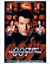Pierce Brosnan Autograph *James Bond, Tomorrow Never Dies* Signed 10x8 P... - $105.00