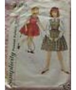 Vintage Simplicity SEWING Pattern 4626 Girls Jumper Blouse 12 - $9.88