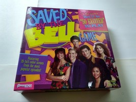 Saved By The Bell Board Game Bayside High Zack Slater Screech Jessie Kelly Lisa - $13.85
