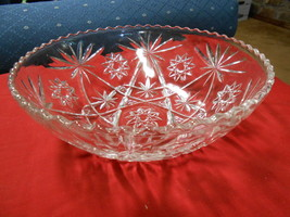 "Great Vintage Prescut STAR OF DAVID  ""Large Salad Bowl"" - $15.65"