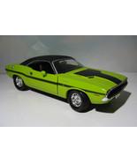 ~ 1970 Dodge Challenger R/T Hemi - Sublime Green - 1:18  ERTL 10 Years diecast - $24.95