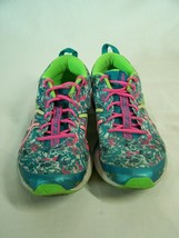 ASICS Gel Hyper Tri 2 Shoes Sneakers Women's Size 8.5 Blue Pink T678N  - $24.70