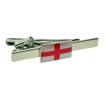 england English Cross of St George  Tie Clip Design  / tie slide in gift box,
