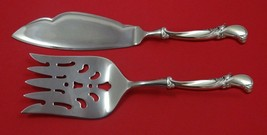 Waltz of Spring by Wallace Sterling Silver Fish Serving Set 2 Piece Custom Made - $127.40