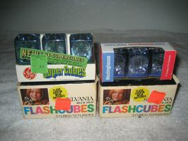 12 Vintage Sylvania Blue Dot Westinghouse Ge Camera Flashcubes Nos - $19.79