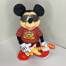 Mickey Mouse Disney T8140 Rock star Rock & Roll Guitar Toy Sing Dance 2010 Toy - $28.04