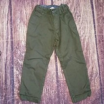 H&M olive green pants size 2-3 - $9.80