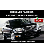 CHRYSLER PACIFICA 2004 2005 2006 2007 2008 FACTORY OEM SERVICE REPAIR FSM MANUAL