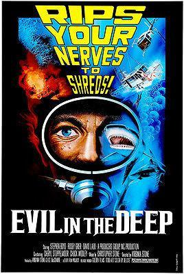 Primary image for Evil In The Deep - 1975 - Movie Poster