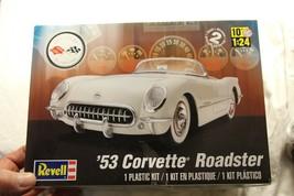 Revell 53 Chevy Corvette Roadster Convertible 1:24 Model 85-4057 FREE SH... - $37.95