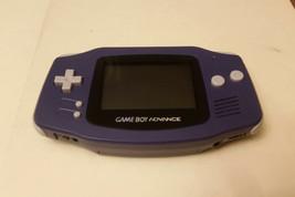 Nintendo Indigo Frontlit Game Boy Advance Handheld - AGB-001 - $42.08