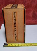 Vintage Ingraham Utility Alarm Clock Paper Box Container image 2