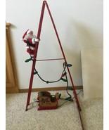 Mr. Christmas Stepping Santa Animated Musical Holiday 2004 Used - $46.74