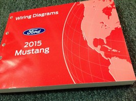 2015 Ford Mustang Wiring Diagram Manual OEM EWD - $118.74