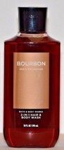 1 Bath & Body Works Bourbon Men's Collection 2 - in - 1 Hair & Body Wash... - $13.29